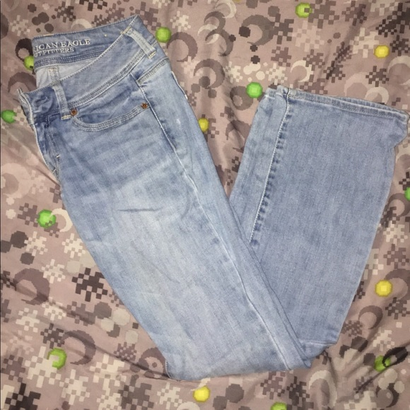 American Eagle Outfitters Denim - Kick boot straight jeans